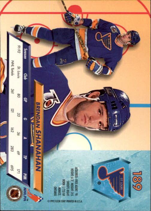 1992-93-Ultra-Hockey-1-250-Your-Choice-GOTBASEBALLCARDS thumbnail 375