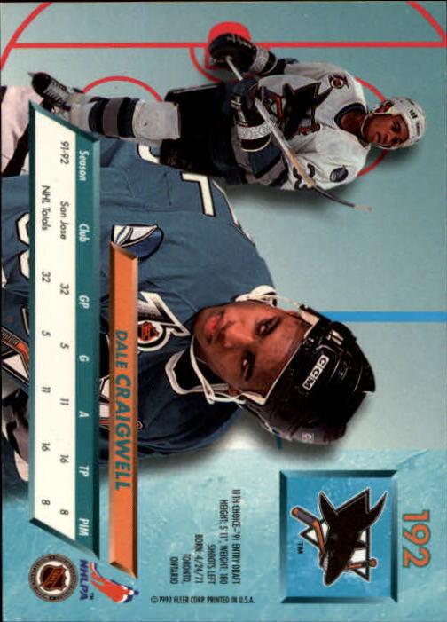 1992-93-Ultra-Hockey-1-250-Your-Choice-GOTBASEBALLCARDS thumbnail 381