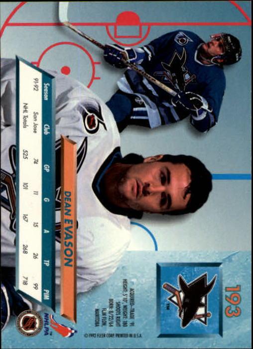 1992-93-Ultra-Hockey-1-250-Your-Choice-GOTBASEBALLCARDS thumbnail 383