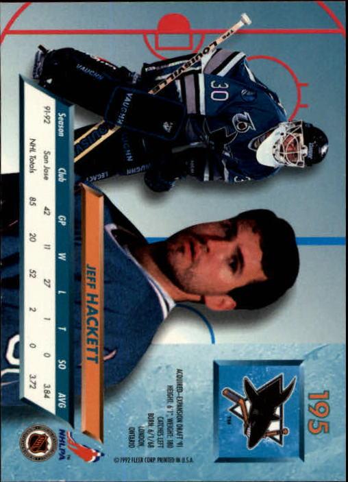 1992-93-Ultra-Hockey-1-250-Your-Choice-GOTBASEBALLCARDS thumbnail 387