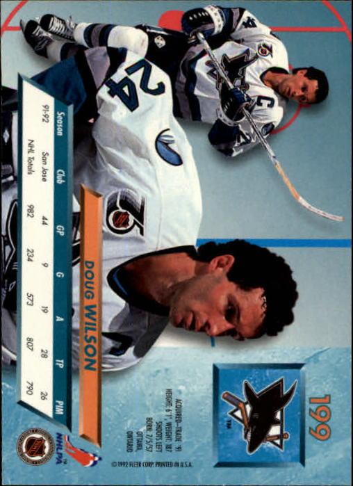 1992-93-Ultra-Hockey-1-250-Your-Choice-GOTBASEBALLCARDS thumbnail 395