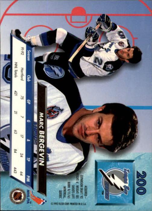 1992-93-Ultra-Hockey-1-250-Your-Choice-GOTBASEBALLCARDS thumbnail 397