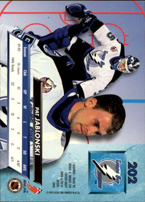 1992-93-Ultra-Hockey-1-250-Your-Choice-GOTBASEBALLCARDS thumbnail 401