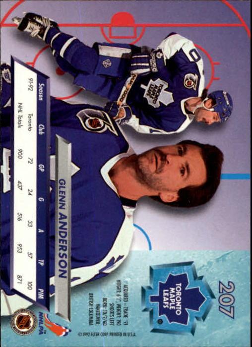 1992-93-Ultra-Hockey-1-250-Your-Choice-GOTBASEBALLCARDS thumbnail 411