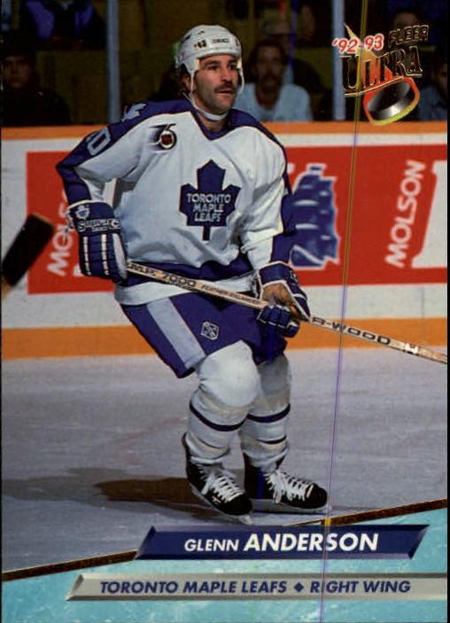 1992-93 Ultra #207 Glenn Anderson