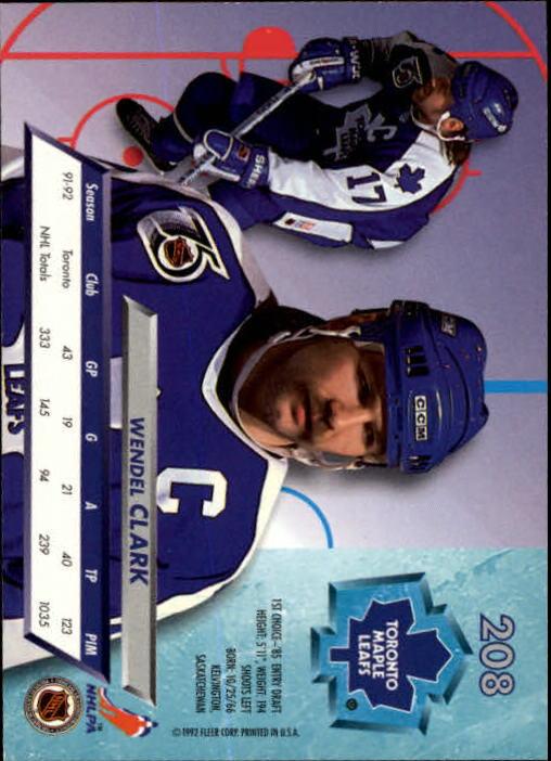 1992-93-Ultra-Hockey-1-250-Your-Choice-GOTBASEBALLCARDS thumbnail 413