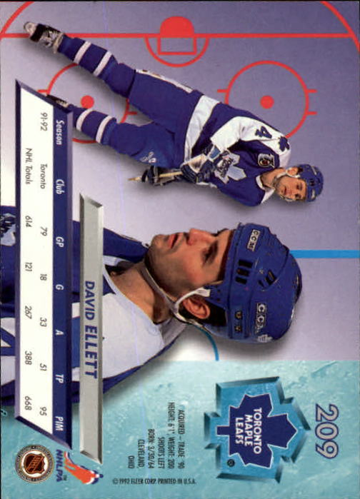 1992-93-Ultra-Hockey-1-250-Your-Choice-GOTBASEBALLCARDS thumbnail 415