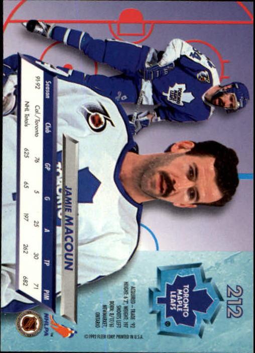 1992-93-Ultra-Hockey-1-250-Your-Choice-GOTBASEBALLCARDS thumbnail 421