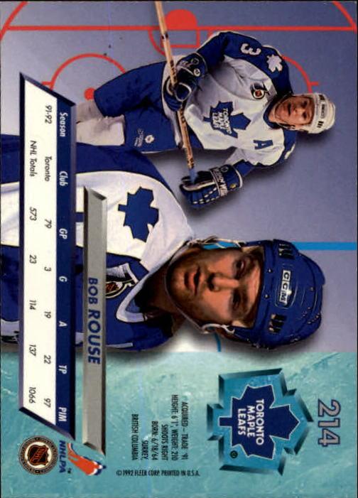 1992-93-Ultra-Hockey-1-250-Your-Choice-GOTBASEBALLCARDS thumbnail 425