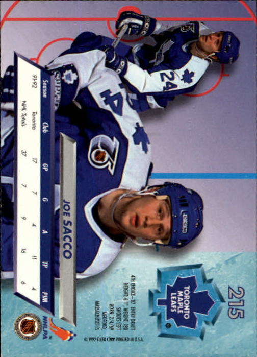 1992-93-Ultra-Hockey-1-250-Your-Choice-GOTBASEBALLCARDS thumbnail 427