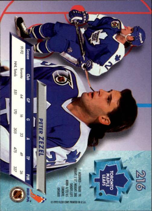 1992-93-Ultra-Hockey-1-250-Your-Choice-GOTBASEBALLCARDS thumbnail 429