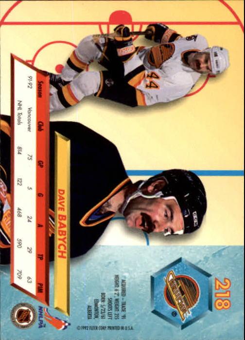 1992-93-Ultra-Hockey-1-250-Your-Choice-GOTBASEBALLCARDS thumbnail 433