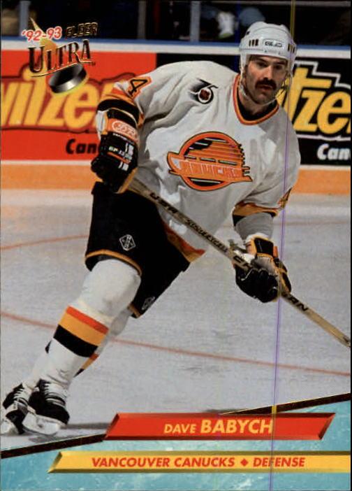 1992-93 Ultra #218 Dave Babych