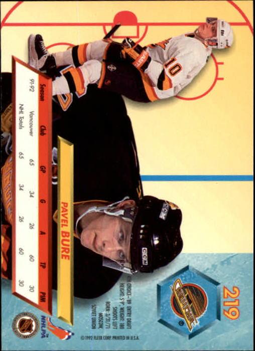 1992-93-Ultra-Hockey-1-250-Your-Choice-GOTBASEBALLCARDS thumbnail 435