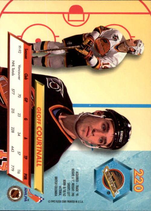 1992-93-Ultra-Hockey-1-250-Your-Choice-GOTBASEBALLCARDS thumbnail 437