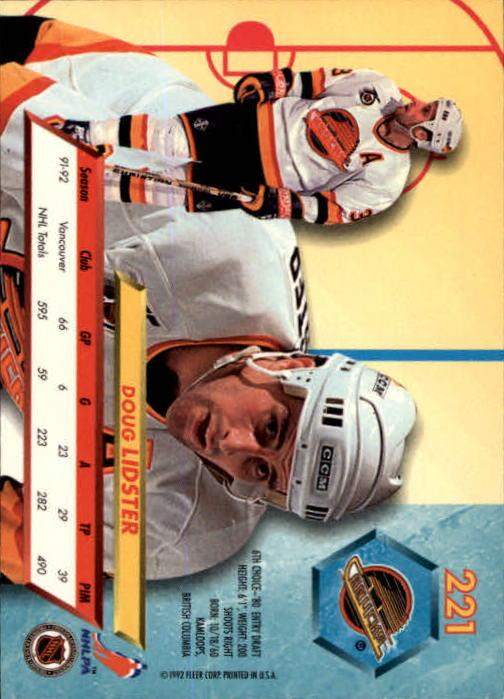 1992-93-Ultra-Hockey-1-250-Your-Choice-GOTBASEBALLCARDS thumbnail 439