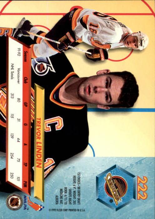 1992-93-Ultra-Hockey-1-250-Your-Choice-GOTBASEBALLCARDS thumbnail 441