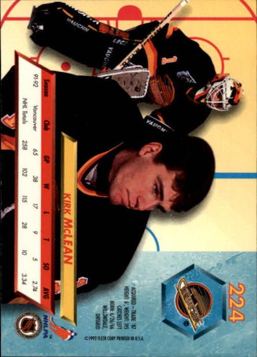 1992-93-Ultra-Hockey-1-250-Your-Choice-GOTBASEBALLCARDS thumbnail 445