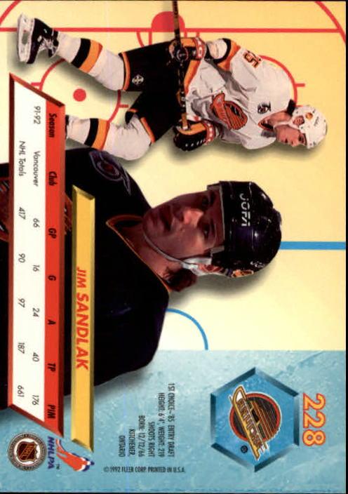 1992-93-Ultra-Hockey-1-250-Your-Choice-GOTBASEBALLCARDS thumbnail 453