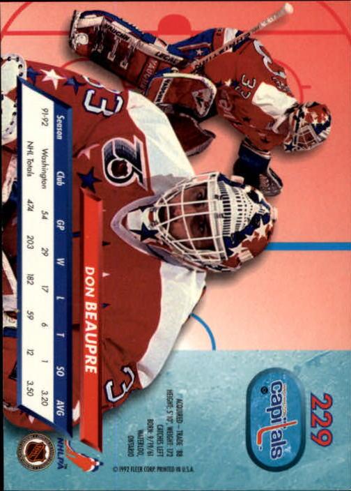 1992-93-Ultra-Hockey-1-250-Your-Choice-GOTBASEBALLCARDS thumbnail 455