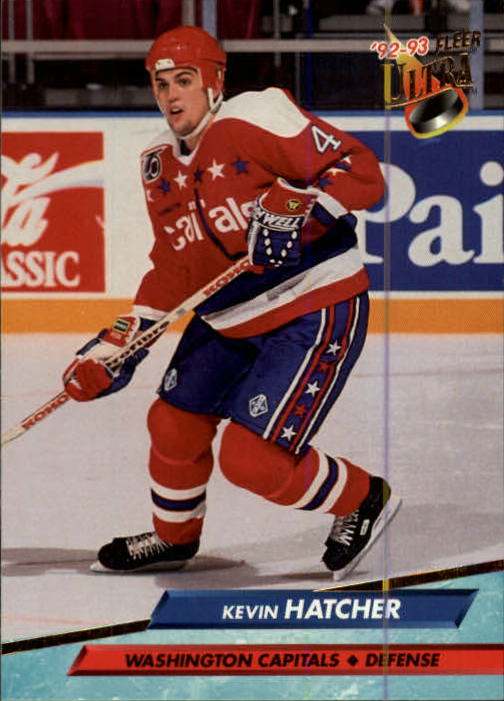 NHL 1992-93 Fleer Ultra      231 - Kevin Hatcher