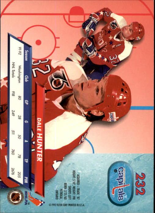 1992-93-Ultra-Hockey-1-250-Your-Choice-GOTBASEBALLCARDS thumbnail 461