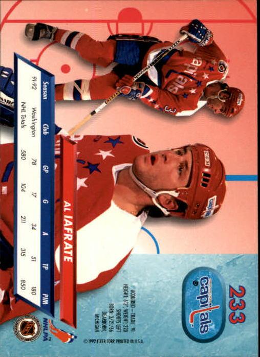 1992-93-Ultra-Hockey-1-250-Your-Choice-GOTBASEBALLCARDS thumbnail 463