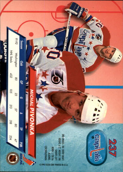 1992-93-Ultra-Hockey-1-250-Your-Choice-GOTBASEBALLCARDS thumbnail 471
