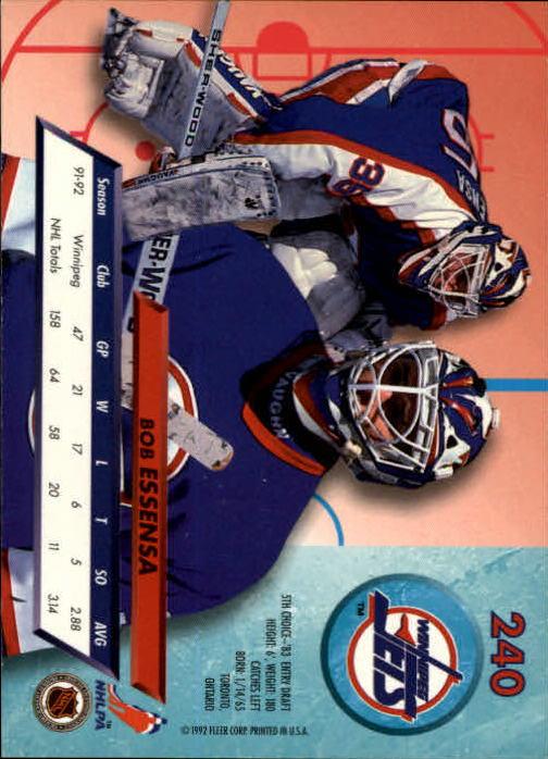 1992-93-Ultra-Hockey-1-250-Your-Choice-GOTBASEBALLCARDS thumbnail 477