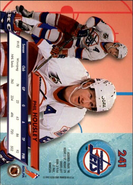 1992-93-Ultra-Hockey-1-250-Your-Choice-GOTBASEBALLCARDS thumbnail 479