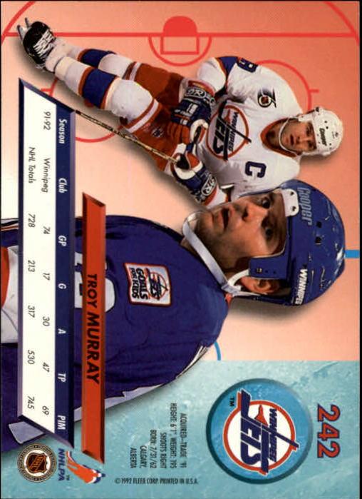 1992-93-Ultra-Hockey-1-250-Your-Choice-GOTBASEBALLCARDS thumbnail 481