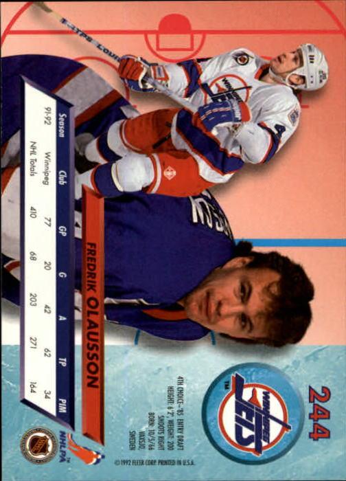 1992-93-Ultra-Hockey-1-250-Your-Choice-GOTBASEBALLCARDS thumbnail 485