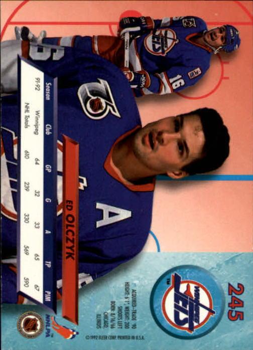 1992-93-Ultra-Hockey-1-250-Your-Choice-GOTBASEBALLCARDS thumbnail 487