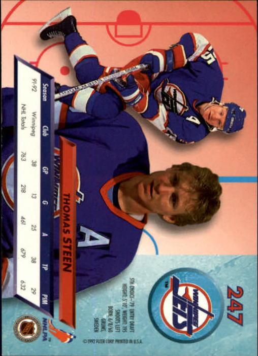 1992-93-Ultra-Hockey-1-250-Your-Choice-GOTBASEBALLCARDS thumbnail 491