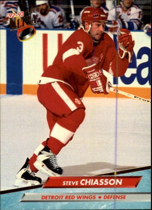 1992-93 Ultra #282 Steve Chiasson