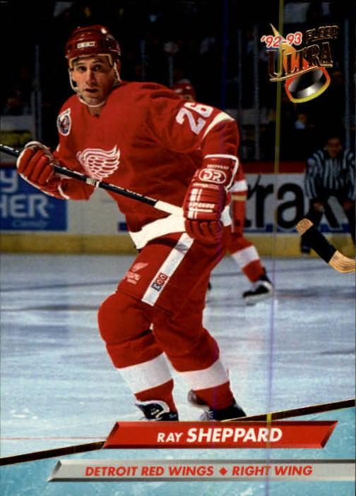 1992-93 Ultra #289 Ray Sheppard