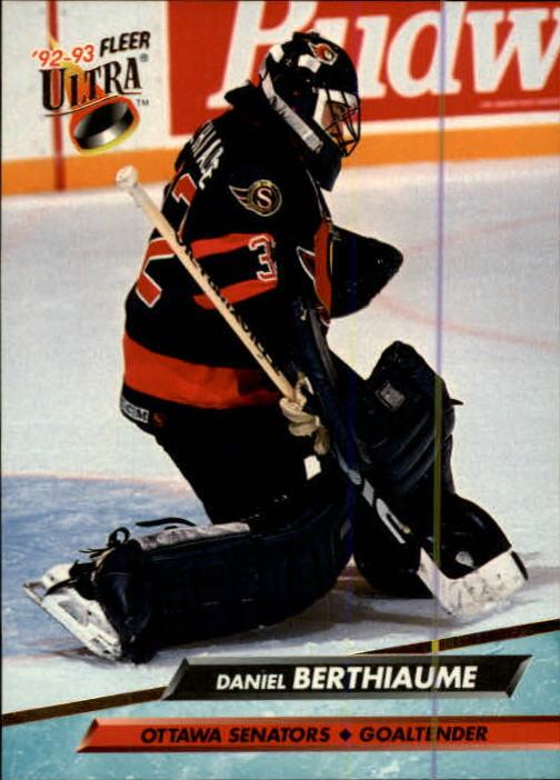 1992-93 Ultra #361 Daniel Berthiaume
