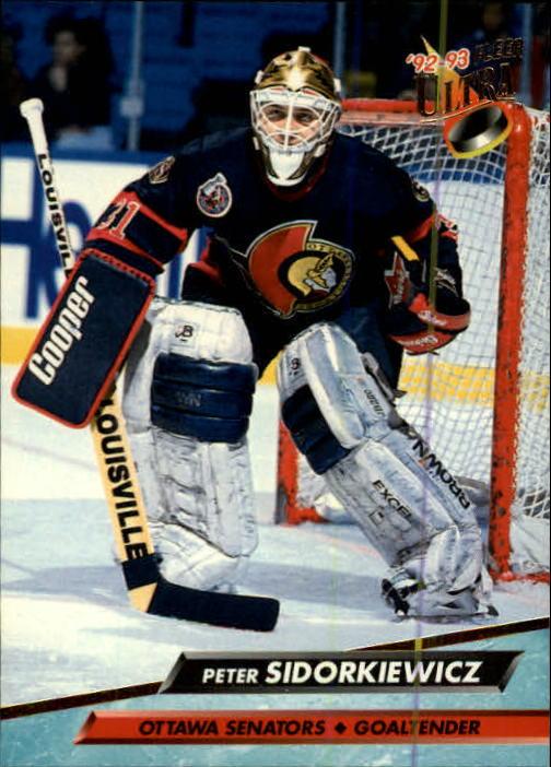 1992-93 Ultra #367 Peter Sidorkiewicz