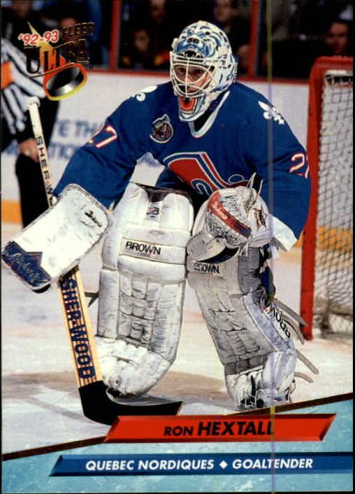 1992-93 Ultra #385 Ron Hextall