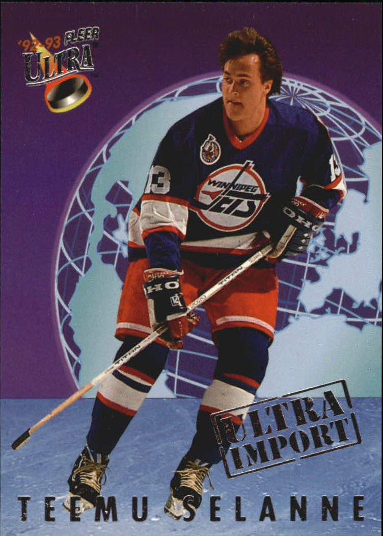 1992-93 Ultra Imports #21 Teemu Selanne