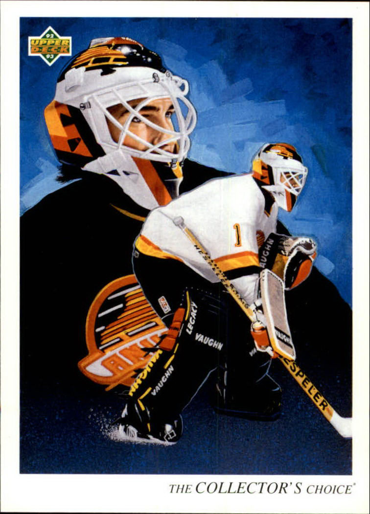 1992-93 Upper Deck #22 Kirk McLean TC