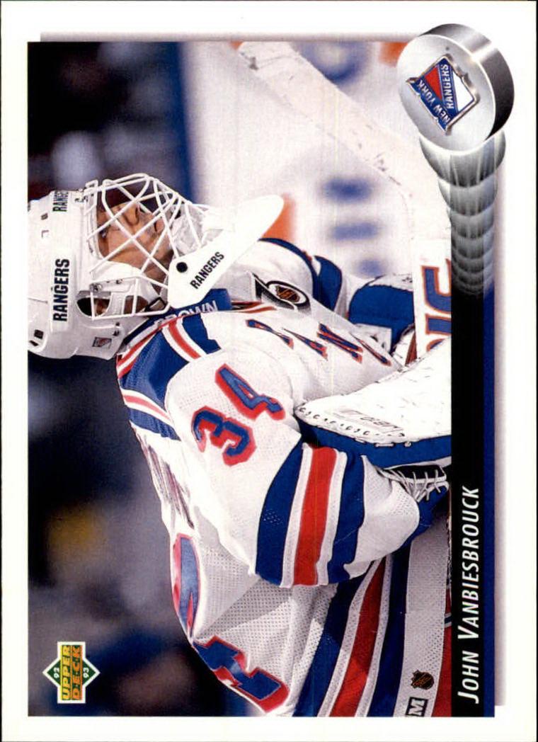 1992-93 Upper Deck #44 John Vanbiesbrouck
