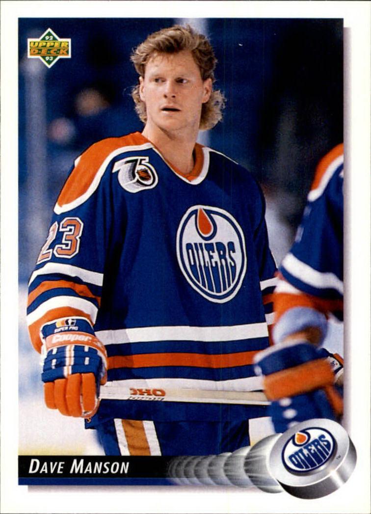 1992-93 Upper Deck #84 Dave Manson
