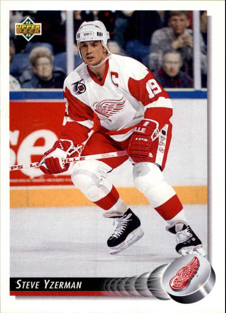 1992-93 Upper Deck #155 Steve Yzerman