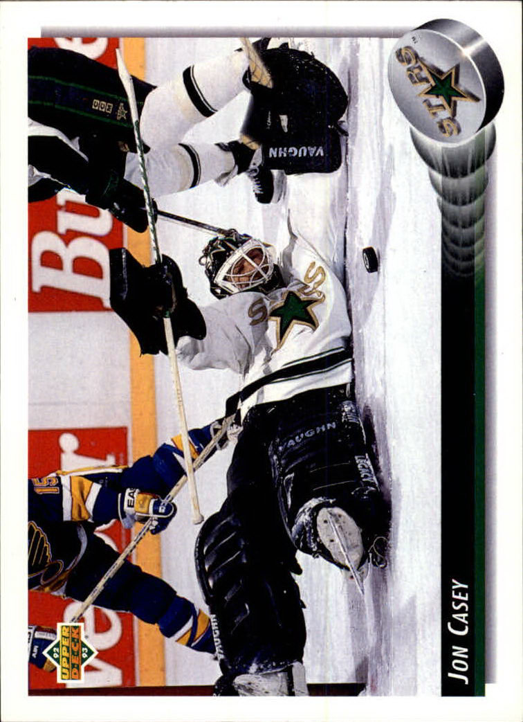 NHL 1992-93 Upper Deck       190 - Jon Casey