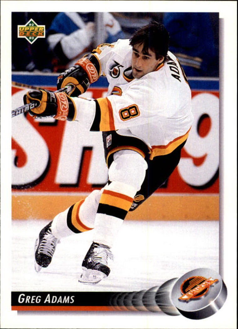 NHL 1992-93 Upper Deck       192 - Greg Adams