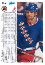 1992-93 Upper Deck #452 Phil Bourque back image
