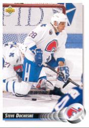 1992-93 Upper Deck #513 Steve Duchesne