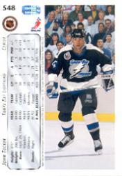1992-93 Upper Deck #548 John Tucker back image