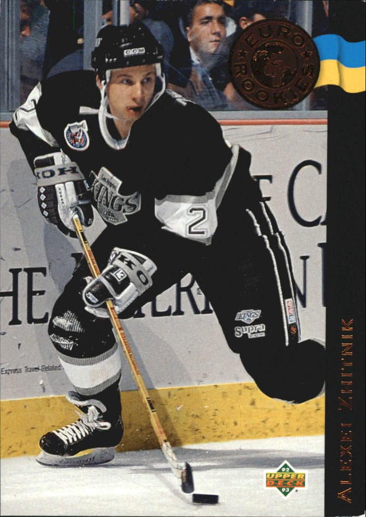 1992-93 Upper Deck Euro-Rookies #ER13 Alexei Zhitnik